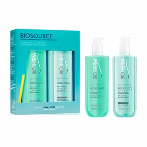 Tonique pour le visage BIOSOURCE DUO NORMAL SKIN  COFFRET Biotherm
