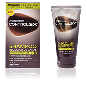 Shampooing couleur CONTROLGX champú reductor canas Just For Men