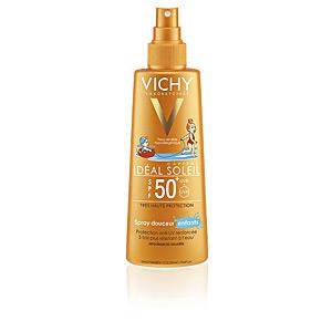 Body IDÉAL SOLEIL spray suave niños SPF50 Vichy