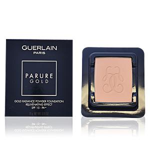 Foundation makeup PARURE GOLD fond de teint compact refill Guerlain