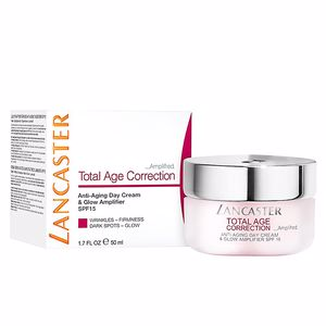 Skin tightening & firming cream  TOTAL AGE CORRECTION anti-aging day cream SPF15 Lancaster