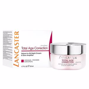 Anti aging cream & anti wrinkle treatment TOTAL AGE CORRECTION retinol-in-oil night cream Lancaster