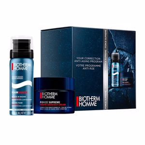 Anti aging cream & anti wrinkle treatment HOMME FORCE SUPREME REBUILDER SET Biotherm