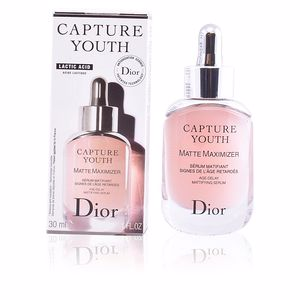 Matifying Treatment Cream - Anti aging cream & anti wrinkle treatment CAPTURE YOUTH matte maximizer serum Dior