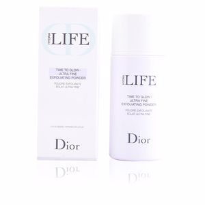 Face scrub - exfoliator HYDRA LIFE time to glow ultra fine exfoliating powder Dior