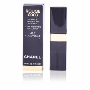 Chanel, ROUGE COCO lipstick #480-corail vibrant