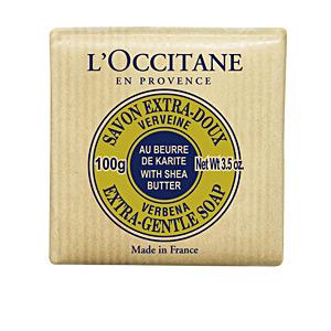 Jabón perfumado KARITÉ Jabón Extra-Suave Verbena al Karité L'Occitane