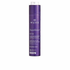 Soin du visage antioxydant NUXELLENCE detox soin nuit anti-âge rechargeur jeunesse
