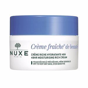 Face moisturizer CRÈME FRAÎCHE DE BEAUTÉ crème riche hydratante 48h