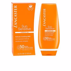 Lichaam SUN SENSITIVE delicate soothing milk SPF50 Lancaster