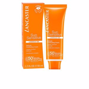 Lichaam SUN SENSITIVE delicate comforting cream SPF50+ Lancaster