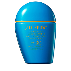 Foundation makeup UV PROTECTIVE liquid foundation SPF30 Shiseido