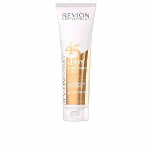 Revlon, 45 DAYS conditioning shampoo for golden blondes 275 ml