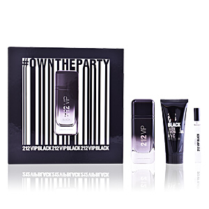 Carolina Herrera 212 VIP BLACK COFFRET perfume