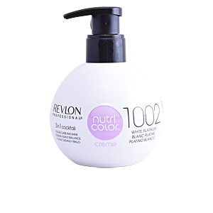 Colorazione Temporanea NUTRI COLOR creme #1002-white platinum Revlon