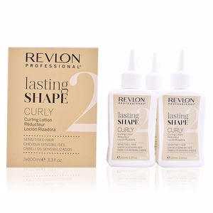 Hair repair treatment LASTING SHAPE curling lotion sensitised hair Revlon