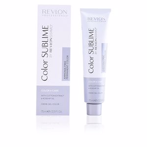 Couleurs COLOR SUBLIME creme gel color ammonia free #6 Revlon