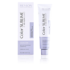 Dye COLOR SUBLIME creme gel color ammonia free #7 Revlon