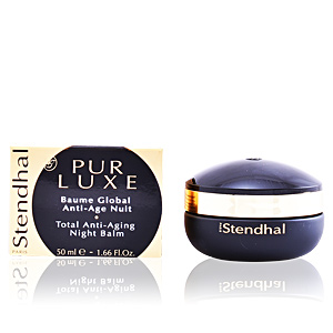 Anti aging cream & anti wrinkle treatment PUR LUXE baume global anti-âge nuit Stendhal