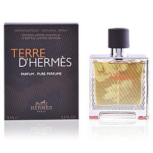 Hermès, TERRE D'HERMÈS H bottle limited edition pure perfume 75 ml