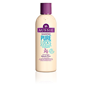 Champú desenredante PURE LOCKS distressed hair shampoo Aussie