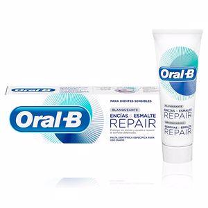 Toothpaste ENCIAS & ESMALTE REPAIR blanqueante pasta dentífrica Oral-B