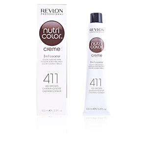 Tinte NUTRI COLOR creme #411-ash brown Revlon
