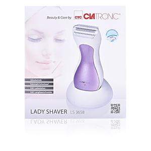 Electric razor LADY SHAVER LS 3658 #lila Clatronic