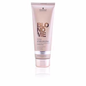 Keratin shampoo BLONDME tone enhancing bonding shampoo #cool blondes Schwarzkopf