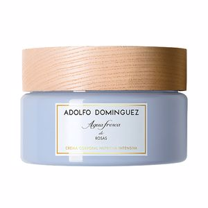 Hidratante corporal AGUA FRESCA DE ROSAS crema corporal nutritiva Adolfo Dominguez