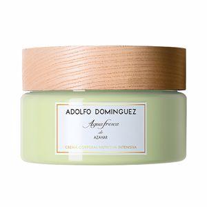 Body moisturiser AGUA FRESCA DE AZAHAR crema corporal nutritiva intensiva Adolfo Dominguez