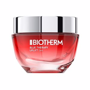 Anti aging cream & anti wrinkle treatment - Skin tightening & firming cream  BLUE THERAPY RED ALGAE UPLIFT cream Biotherm