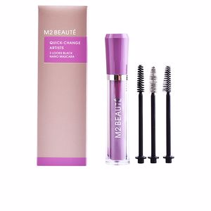 Máscara de pestañas QUICK-CHANGE 3 LOOKS black nano mascara M2 Beauté