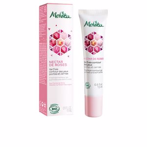 Dark circles, eye bags & under eyes cream NECTAR ROSAS contorno de ojos Melvita