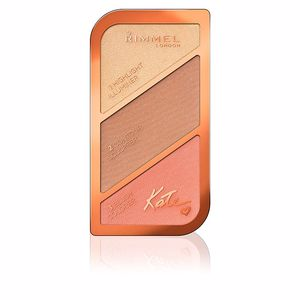 Iluminador maquiagem KATE SCULPTING palette Rimmel London