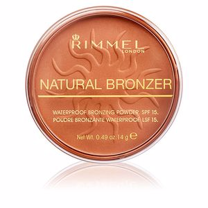 Bräunungspuder NATURAL BRONZER SPF15 Rimmel London