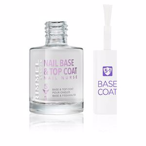 Esmalte de unhas NAIL NURSE CARE base & top coat 5en1 Rimmel London