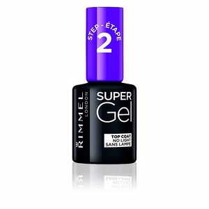 Nail polish SUPER GEL top coat Rimmel London