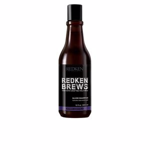 Shampooing couleur REDKEN BREWS silver shampoo Redken Brews