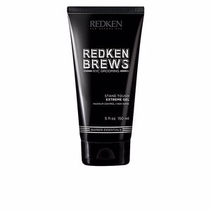 Hair styling product REDKEN BREWS stand tough extreme gel Redken Brews