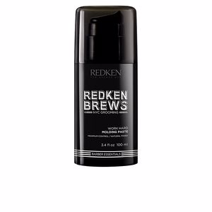 Hair styling product REDKEN BREWS work hard molding paste Redken Brews