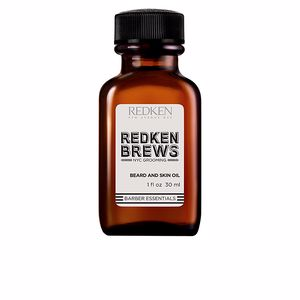 Beard care REDKEN BREWS beard and skin oil Redken Brews