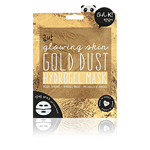 Masque pour le visage GOLD DUST hydrogel face mask glowing skin Oh K!