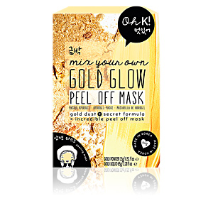 Mascarilla Facial GOLD GLOW PEEL OFF mix your own face mask Oh K!