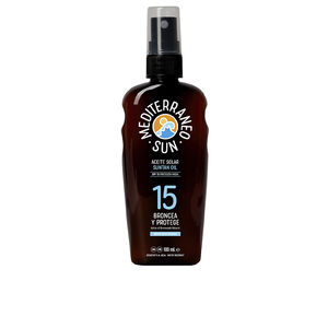 Corporales COCONUT suntan oil dark tanning SPF15 Mediterraneo Sun