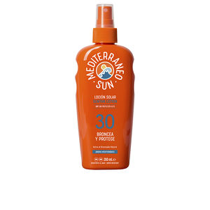 Body COCONUT sunscreen dark tanning SPF30 Mediterraneo Sun