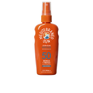Body COCONUT sunscreen dark tanning SPF50 Mediterraneo Sun