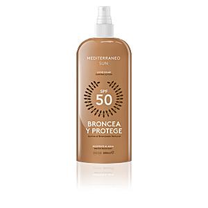 Corporales BRONCEA Y PROTEGE leche solar SPF50 Mediterraneo Sun