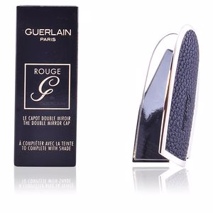 Lipsticks ROUGE G le capot double miroir #perfect black Guerlain