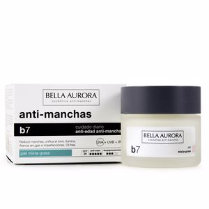 Anti blemish treatment cream B7 antimanchas regenerante aclarante SPF15 piel mixta grasa Bella Aurora